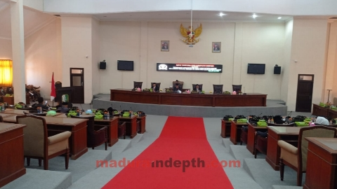 Lima Raperda Inisiatif Rapat Paripurna DPRD Sampang